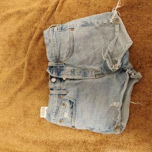 Levi's pair of shorts